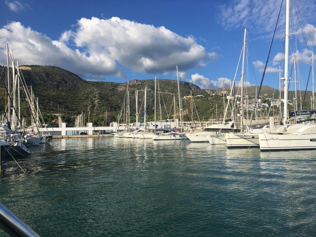 Port Ginesta boats
