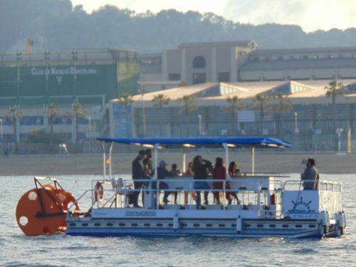 barceloneta pedal boat