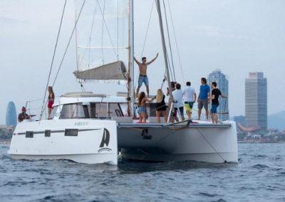 catamarán 28pax
