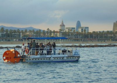 pedal boat barceloneta