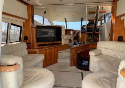 inside yacht Barcelona