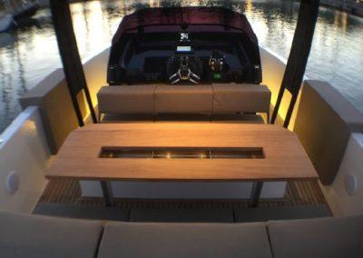 modern yacht barcelona