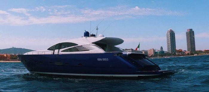 luxury yacht trip barcelona