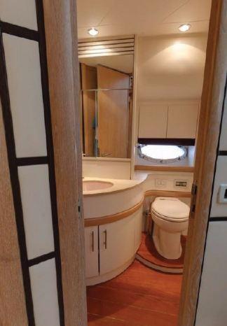 toilet yacht barcelona