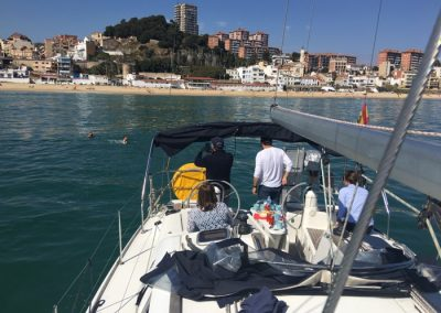 Montgat by boat