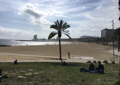 barcelona beaches (somorrostro)