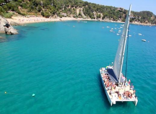 Big catamaran Barcelona