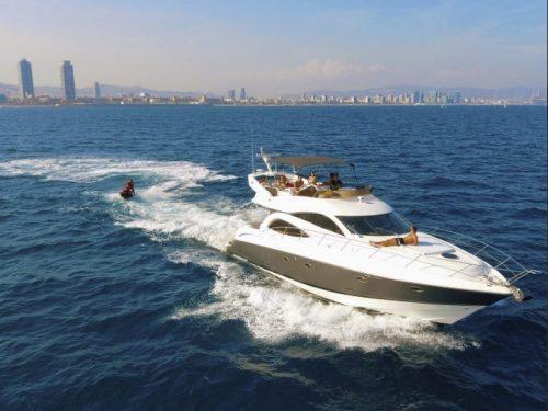 Day yacht charter Barcelona