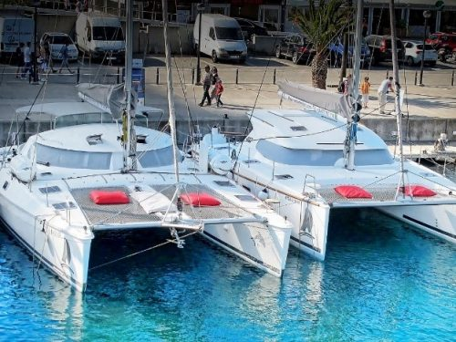 Medium size catamarans Barcelona
