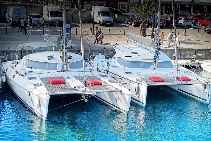 Medium size catamarans Barcelona