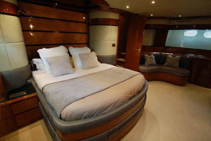 cabin luxury yacht