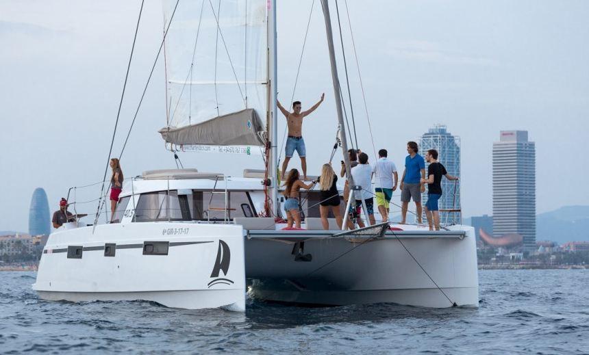 catamaran charter barcelona