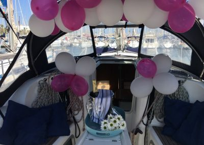 balloons on board