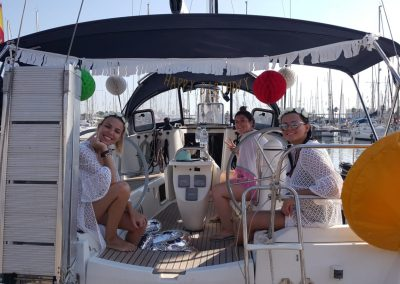 birthday in a boat barcelona