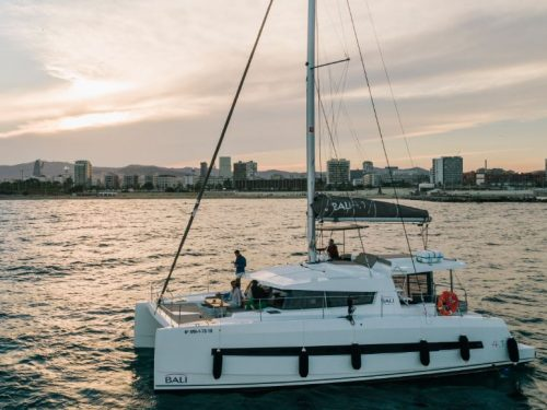 rent a catamaran barcelona