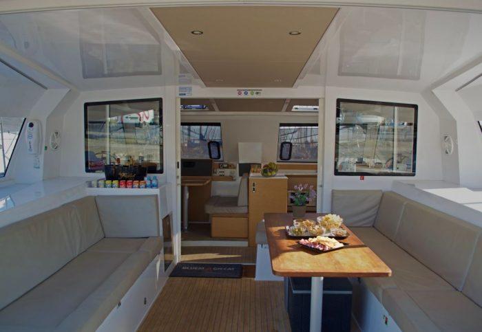 catamaran trip barcelona