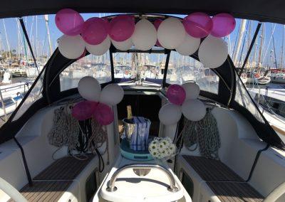 cumpleaños en barco barcelona
