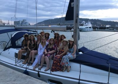 hen party boat trip