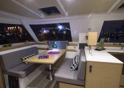 interior catamaran