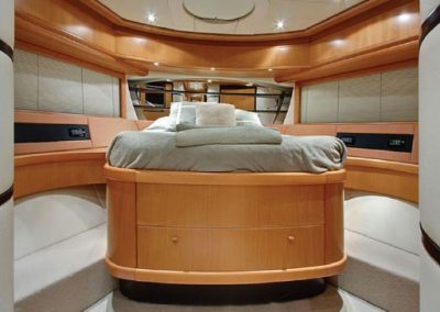 luxury yacht bed