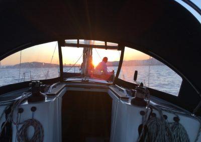 romantic boat trip barcelona
