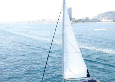 sailing boat rental barcelona