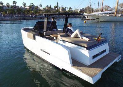 speed yacht barcelona