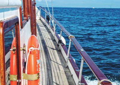 pasarela lateral goleta turca barcelona