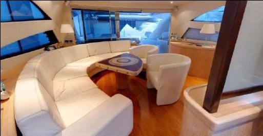 inside luxury yacht barcelona