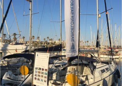 meeting point barcelona sailboats